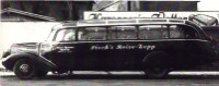Bus PIECK-REISEN 1954